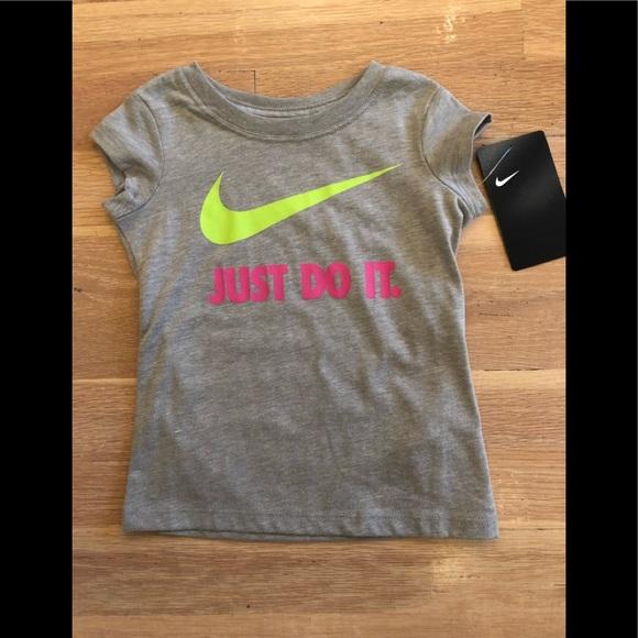 88f75910 Nike Shirts & Tops | Girls Just Do It Logo Tshirt Size 2t Nwt | Poshmark